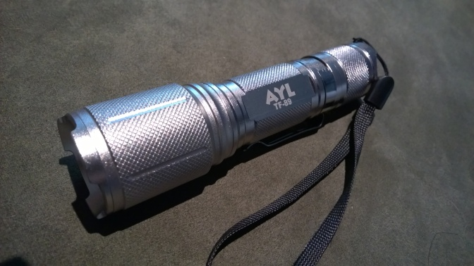 AYL TF89 CREE XML T6 LED Flashlight